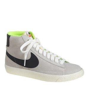 J.Crew x Nike Suede Blazer Mid Vintage Sneakers